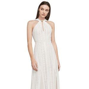 Aloysha Lace Halter Gown Bridal Dress Maxi NWT 12